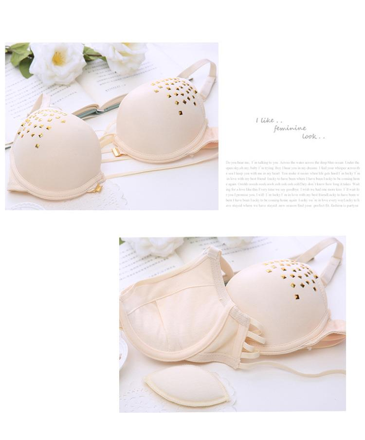 00070 Korean Style Push Up Bra Set