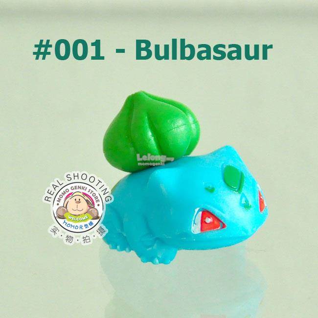 [001-Bulbasaur] Pokemon Pikachu Collective Figures Toy Doll