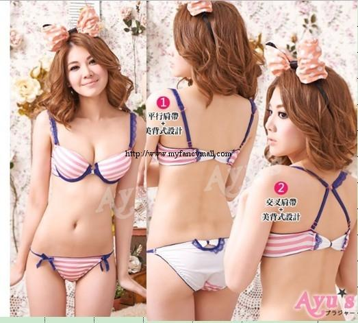 00101 Japan Korea Underwear Shaping Adjust Gather UP UP Bra Temptation