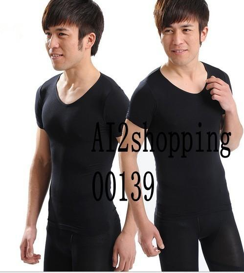 00139Japan closed plastic chest waist belly Slimming Men
