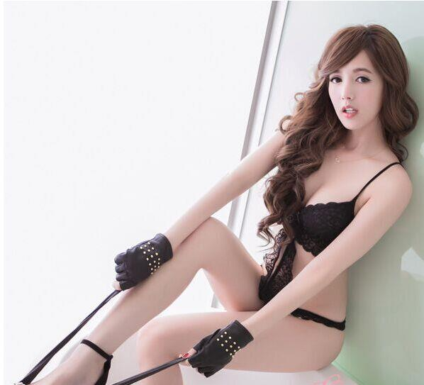 00162 Korean Style Embroidery Lace Bra Set