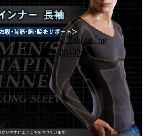 00192Men from the heat/waist/abdomen/fat burning thin clothing
