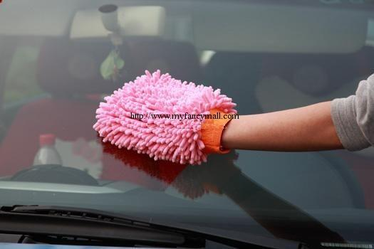 00670 Chenille Microfiber Cleaning Glove