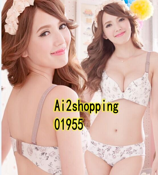 01955Korea a Seamless breathable gather Prop underwear Bra suit