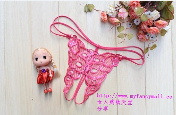 02010 Sexy G-string Panty Lace T trousers Underwear T-string