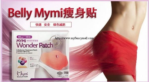 02170 Korea Mymi Wonder Slimming Patch for Belly Abdomen Buy 3 Free 1