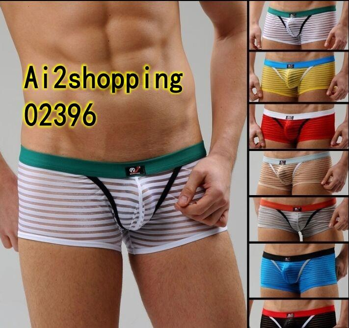 02396Sexy G-string Men Underwear Boxer underwear cotton Briefs