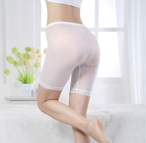 02568The new fashion lace fifth Leggings pant