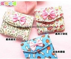 02601 Korean version of adorable three layer of sanitary cotton bag