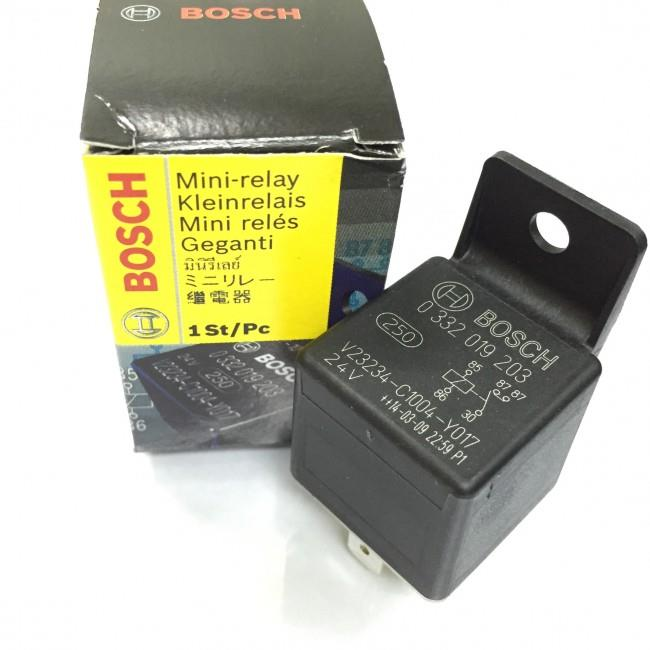 0332019203 Bosch Original 24V Relay Made in Portugal
