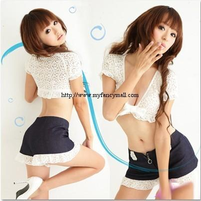 03801 Korea Japan Sexy Valentina Evening Wear Lingerie Nightwear