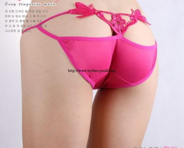 03833 Sexy G-string Panty Lace T trousers Underwear T-string