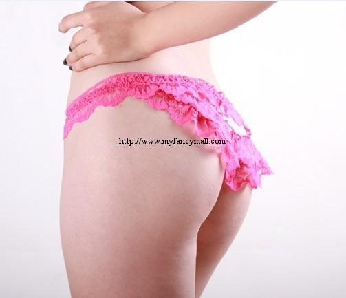 03899 Sexy G-string Panty Lace T trousers Underwear T-string
