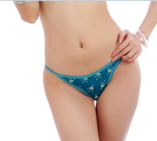 03912 Delicate Ice Silk Bowknot Panties