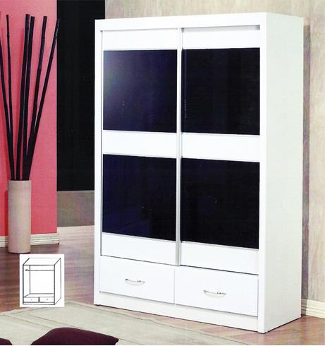 040 Two Sliding Door Wardrobe