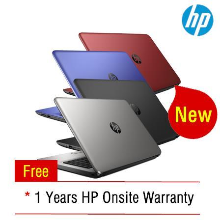 [05-Dec] HP 15-ay041TU NOTEBOOK *Intel i3-5005U* (Blue)