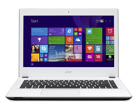 [06-Dec] Acer Aspire E5-473-C3A7 Notebook *Intel 3215U* (White)