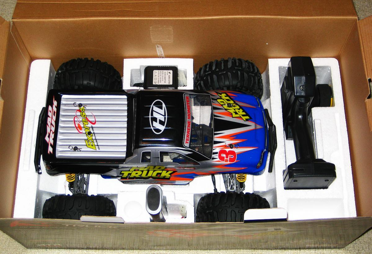 1:10 HL Mad Truck 4WD 2.4Ghz RC Car
