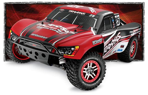 1:10 Traxxas Slash 4X4 Brushless Short Course Truck 2.4Ghz RTR
