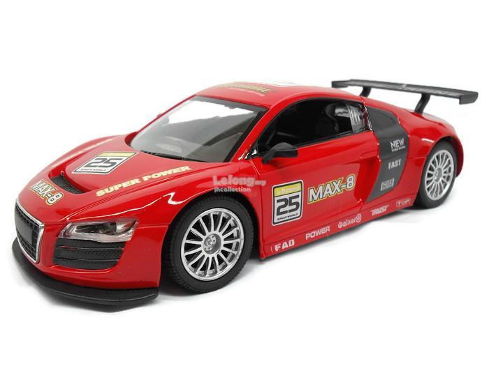 1:18 Scale Max-8 Remote Control Car ( Red ) - Free Shipping