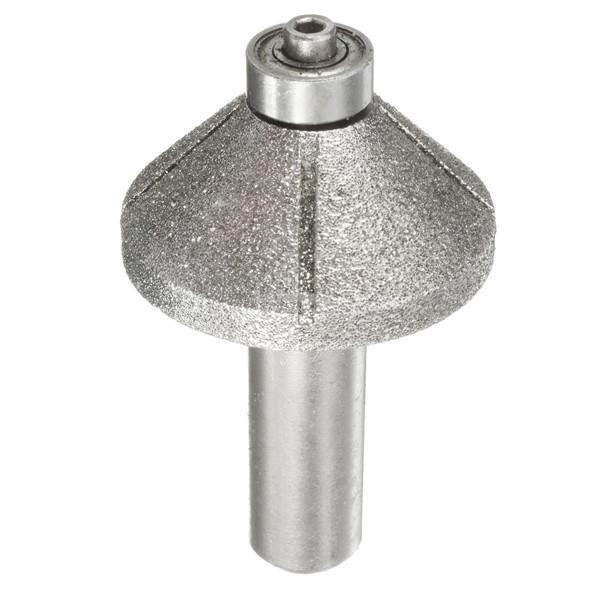 1/2 Inch Shank Diamond Router Bits Profile Wheel For Marble Ceramic Gr