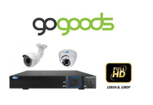 1.3MP CCTV Camera + 8 Channel CCTV Full 1080P DVR Package