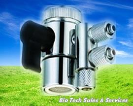 "1/4"" 2 Way Diverter With Plastic Handle & Nut"