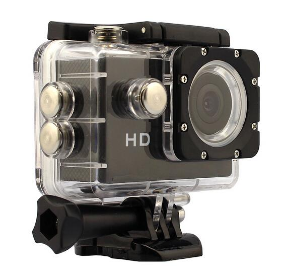 1.5' LCD 720P HD DV Waterproof 30M Action Sports Camera / Car DVR