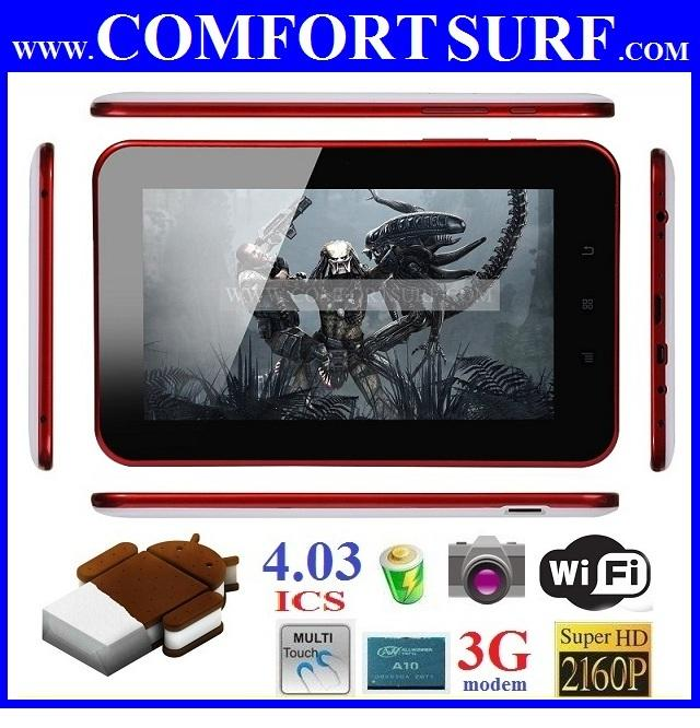 1.5GHz Allwinner A10 Android 4.03 ICS Tablet PC Momo9+ Novo7 Onda vi40