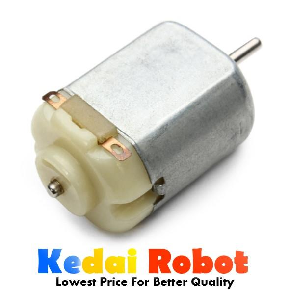 1-6v 0.4A High Speed Toy Car Robotics 130 Mini DC Motor for Arduino