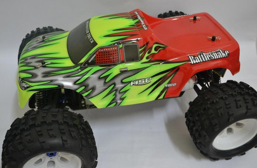 1:8 HSP Racing Rattlesnake 21CXP 4WD Monster Truck 2.4Ghz RC Car RTR