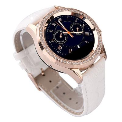 No.1 D2 Bluetooth Women Diamond Smart Watch for Samsung Android