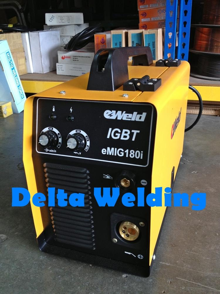 NO 1 Eweld Mig Welding Machine 180 ISO Certified Welding Machine