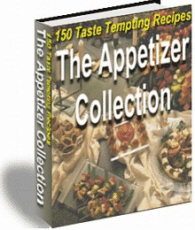 1 pc ebook - 150 Appetizers Recipies