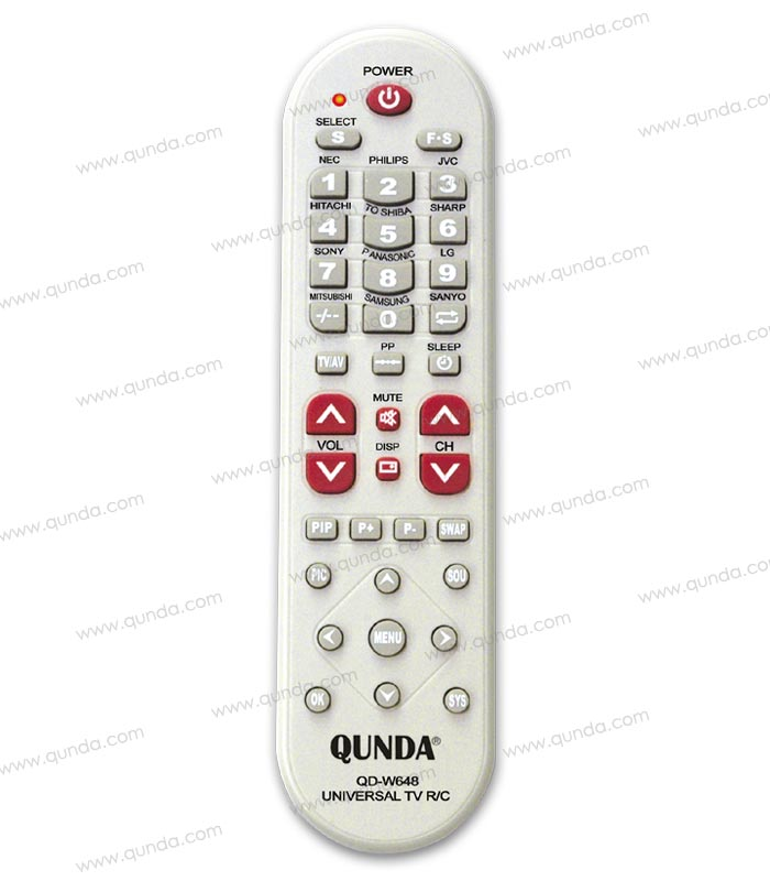 1 pc Universal TV Remote Control - Toshiba, Sharp, Sony, Panasonic, LG