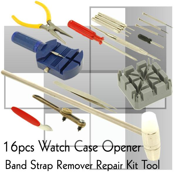 1 set 16 PCS Professional Watch Repair Tools/Watch Tool - Repair