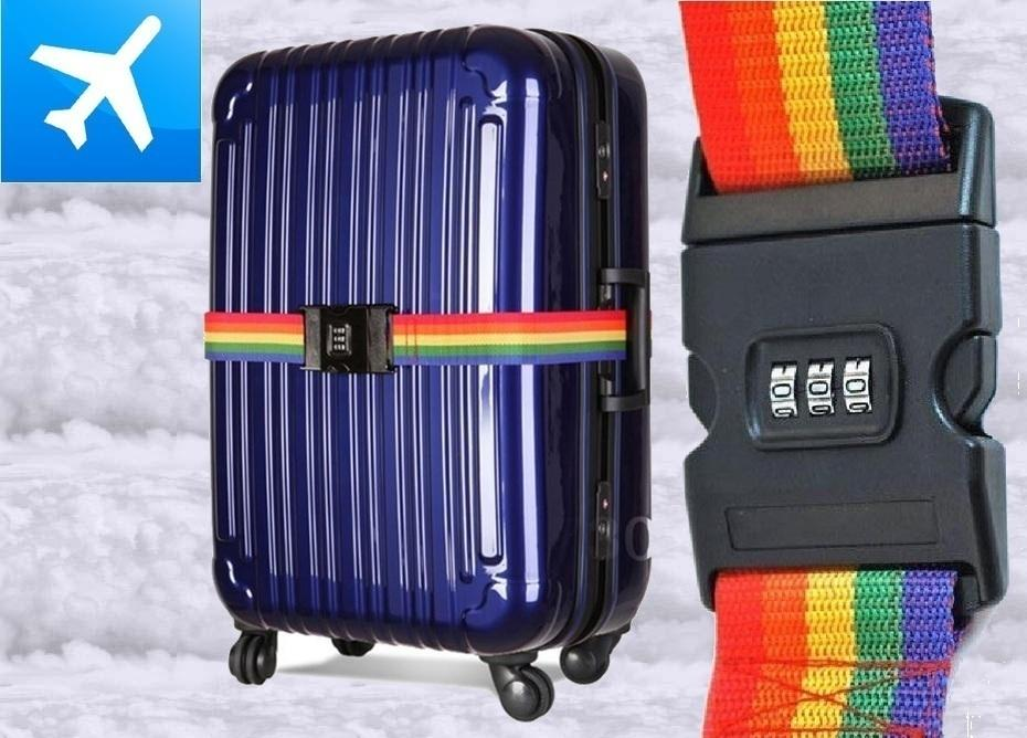 Number Lock Luggage Bag Strap Suitca (end 4/12/2018 9:09 PM)