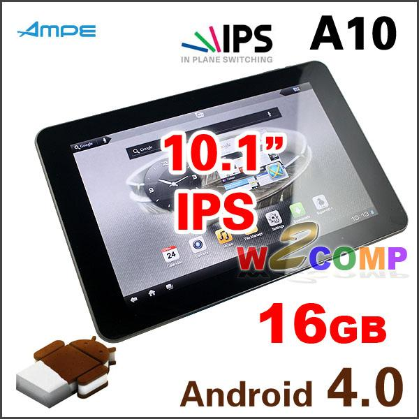 10.1'' IPS 4.0.3 AMPE A10 /SANEI N10 TABLET 1GB RAM 16GB Bluetooth DualCAM