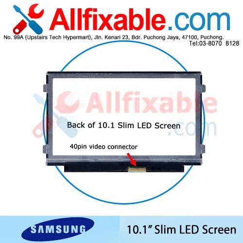 "10.1"" Slim LED LCD Screen For Samsung NP-NC210 NP-NC215"