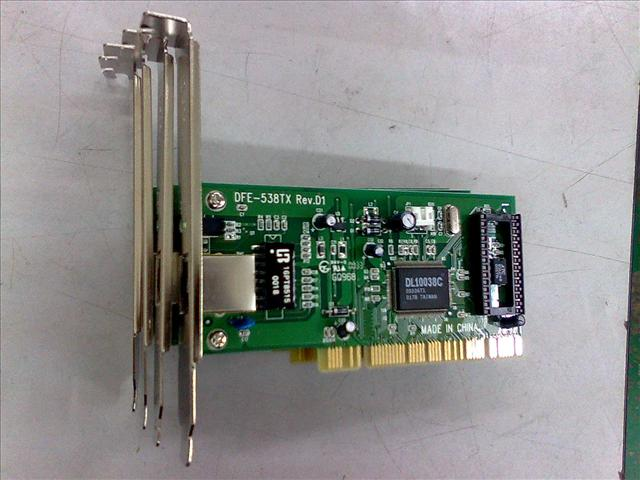 10/100 Mps PCI Network Card  060811