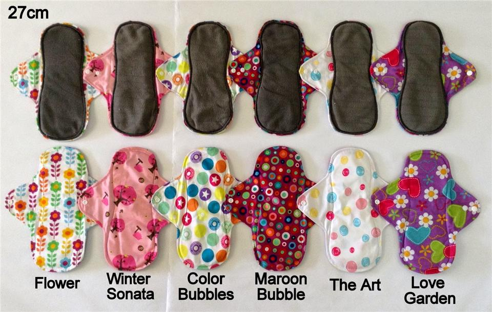 10 Lady Cloth Pad 27cm - RM111.00 Free Ship Poslaju ^_^