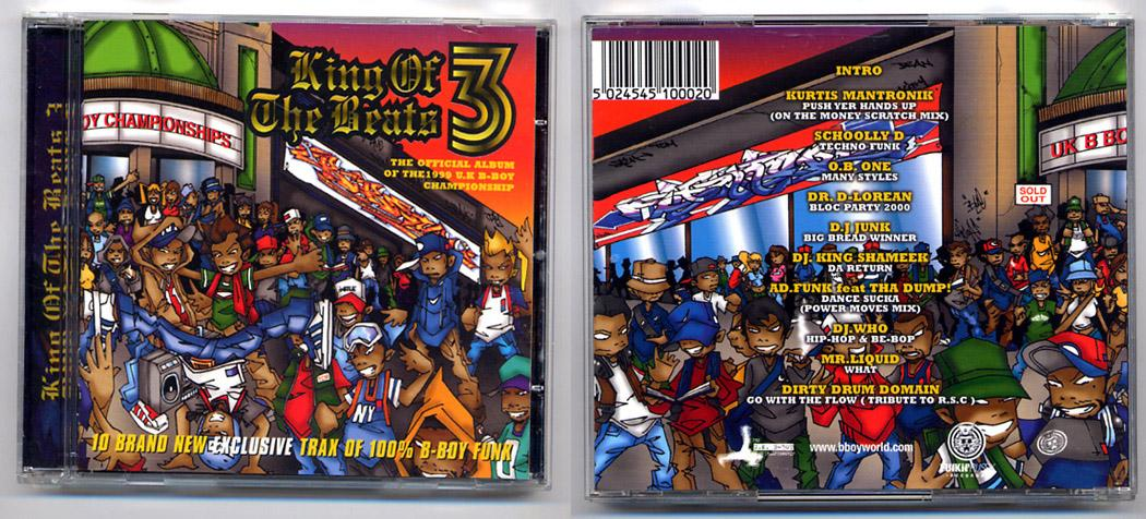 100% B-Boy Funk! 'King Of The Beats' CD