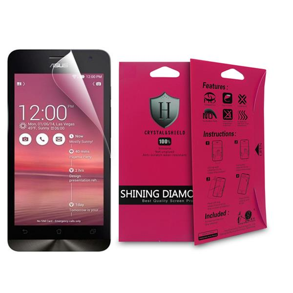 100% Genuine Diamond Screen Protector For Asus Zenfone 4 Transparent