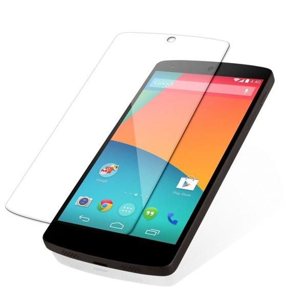 100% Genuine Tempered Glass Screen Guard For Oppo Find 7 Transparent