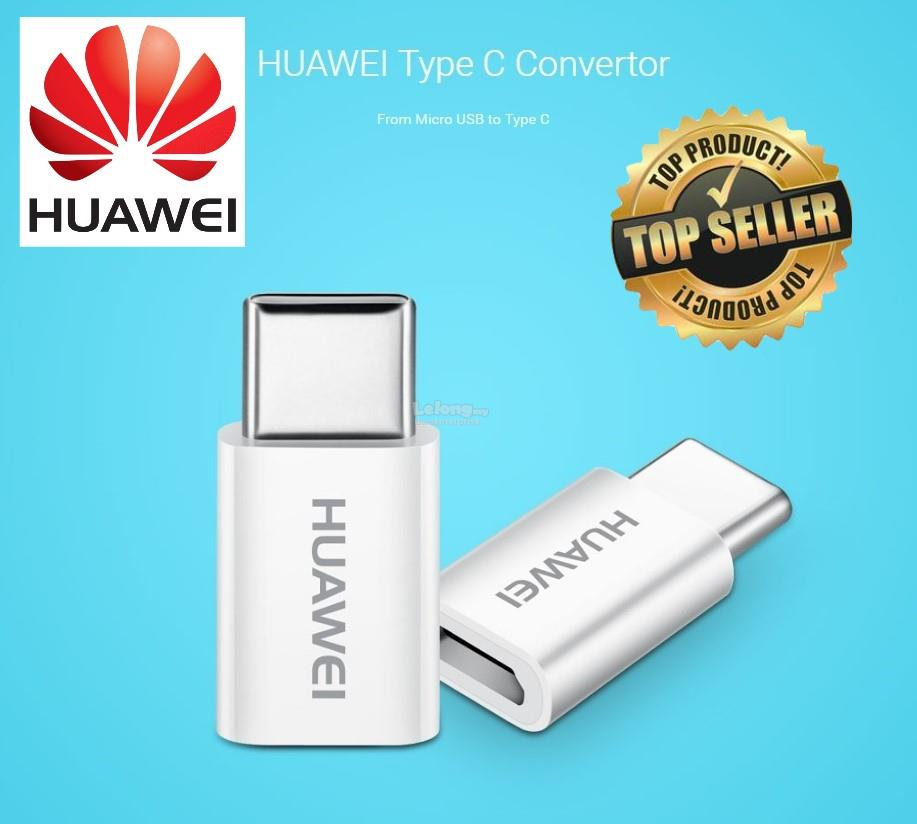 100% Original Huawei USB Type-C to Micro USB Adapter Connector Convert
