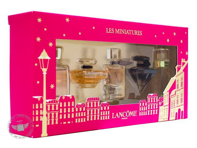 100% Original - Lancome 5-Piece Les Miniatures Gift Set