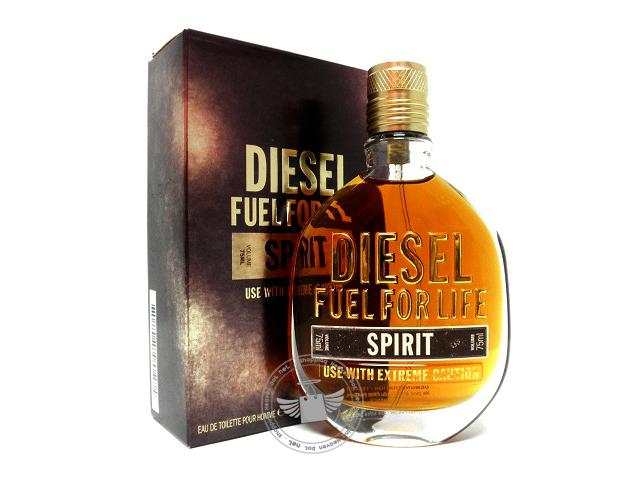*100% Original Perfume Tester Unit* Diesel Fuel For Life Spirit 75ml