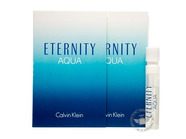 *100% Original Perfume Vials*CK Eternity Aqua Women 1.2ml Edp Spray x2