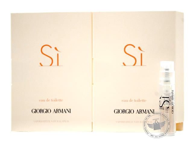 *100% Original Perfume Vials*G.Armani SI 1.5ml Edt Spray x2