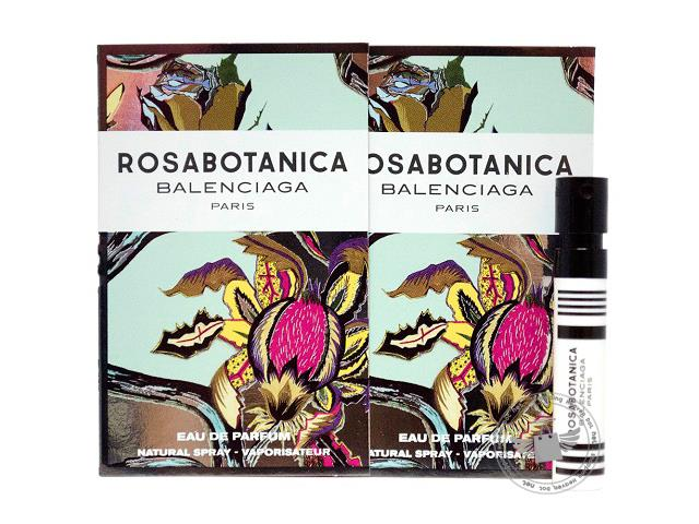 *100% Original Perfume Vials*Rosabotanica 1.2ml Edp Spray x2